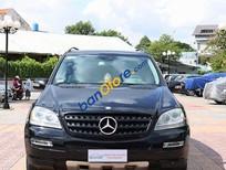 Bán Mercedes ML350 3.5AT đời 2005, màu đen, nhập khẩu chính hãng, giá chỉ 695 triệu