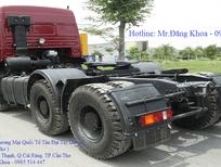 Bán xe đầu kéo Kamaz, 43.2 tấn, 3 chân, 2 cầu sau, nhập khẩu chính hãng, mới