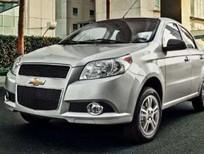 Cần bán Chevrolet Aveo LT đời 2016, màu bạc, nhanh tay liên hệ