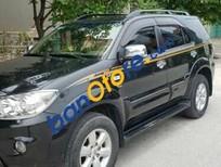 Cần bán xe Toyota Fortuner 2.7V 2009, màu đen, xe nhập, giá chỉ 665 triệu