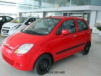 Bán ô tô Chevrolet Spark 0.8 MT 2016, màu đỏ