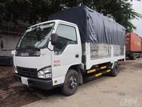 Xe tải Isuzu mui bạt NLR55E 1.4 tấn thùng dài 3.2m