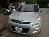 Cần bán gấp Hyundai i20 1.4AT đời 2011, màu bạc, nhập khẩu, cam kết chất lượng, xe rất đẹp