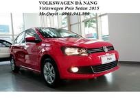 Cần bán xe Volkswagen Polo 1.6L 6AT 2015, màu đỏ, nhập khẩu chính hãng