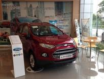 Bán Ford EcoSport Titanium 2016, màu đỏ, hỗ trợ trả góp ngân hàng, giao xe toàn quốc