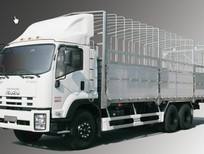 Giá xe tải isuzu 6.2t, isuzu 6.2 tấn, isuzu 6t2, isuzu 6 tấn 2 thùng mui bạt trả góp giá rẻ