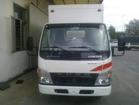 Bán xe tải Canter 1.9 tấn/1t9 thùng kín composite trả góp, Fuso Canter 1.9 tấn thùng kín giá rẻ