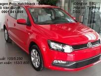 Volkswagen Đà Nẵng bán Polo Hatchback 1.6L 6AT 2015, màu đỏ, xe nhập. LH 0901.941.899 được hỗ trợ ngay 100% trước bạ