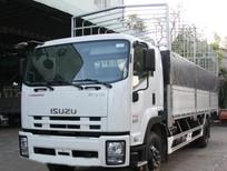 Bán xe tải  Isuzu 5.5 tấn NQR75L thùng bạt, giá tốt giao xe nhanh