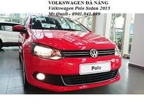 Volkswagen Polo Sedan 1.6L 6AT 2015, màu đỏ, nhập khẩu chính hãng. LH 0901.941.899 nhận ngay 80tr tiền mặt