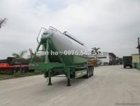 Sơmi rơmooc tải (chở xi măng rời) Doosung 33 tấn 2016