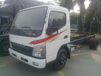 Giá xe tải Canter HD thùng bạt/thùng kín 5.6m, Fuso Canter HD 5.2 tấn giá rẻ