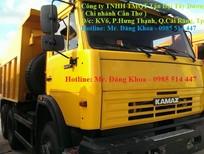 Bán Ben KAMAZ 65115,đời 2016,14 tấn,260 mã lực,28 lít/100km,Nhập nguyên chiếc