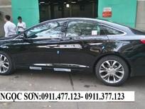 Bán Hyundai Sonata đời 2016, màu đen, nhập khẩu chính hãng