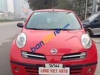 Bán Nissan Micra năm 2011, màu đỏ đã đi 40000 km