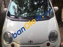Bán Daewoo Matiz MT đời 2008, màu trắng đã đi 130000 km