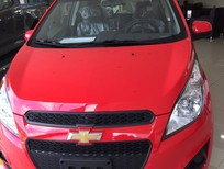 Chevrolet Spark LS màu đỏ sành điệu, giá tốt, tiết kiệm xăng