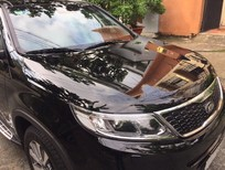 Bán xe Kia Sorento 2.2AT 2014, màu đen, máy dầu