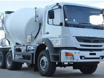 Giá xe trộn bê tông Fuso 7 khối FJ nhập khẩu, xe trộn bê tông Fuso FJ 7 khối giá rẻ
