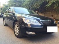 Cần bán lại xe Toyota Camry V5 3.0 2004, màu đen, giá 420tr