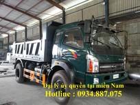 bán xe ben cửu long TMT 7.7 tấn/7.65 tấn/7,65 tấn, xe ben Cửu Long 7.7 tấn/7.65 tấn