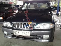 Cần bán lại xe Ssangyong Musso QC năm 2002, màu xanh lam, nhập khẩu chính hãng