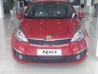 Kia Rio sedan AT, chính hãng, màu đỏ, nhập khẩu nguyên chiếc, giá 525 triệu