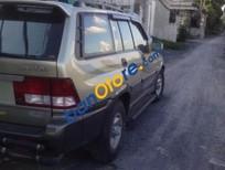 Cần bán xe Ssangyong Musso đời 2008, màu vàng, nhập khẩu nguyên chiếc xe gia đình