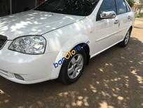Bán xe Daewoo Lacetti EX đời 2007, màu trắng, giá 255tr, xe còn tốt