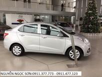 Cần bán Hyundai Grand i10 đời 2016, màu bạc, nhập khẩu chính hãng, giá 355tr