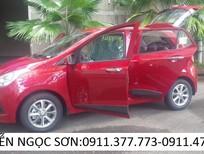 Cần bán xe Hyundai Grand i10 2016, màu đỏ, xe nhập, giá 355tr