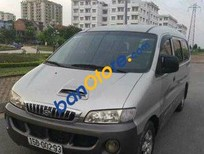 Cần bán lại xe Hyundai Starex đời 2003, màu bạc số sàn