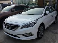 Bán Hyundai Sonata 2.0AT 2016, màu trắng, nhập khẩu chính hãng, khuyến mãi 40 triệu