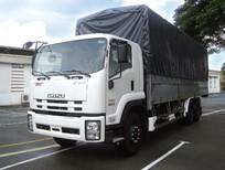 Xe tải ISUZU 3 chân, 16 tấn, thùng dài 7.8m / 9.6m trả góp lãi suất thấp giao xe toàn quốc