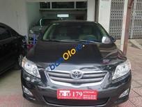 Cần bán lại xe Toyota Corolla Altis MT đời 2009, màu đen đã đi 46000 km
