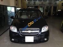 Bán xe cũ Chevrolet Aveo 1.5 MT đời 2011, màu đen, giá tốt
