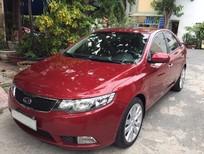 Cần bán Kia Forte 1.6AT 2011, màu đỏ