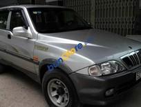 Cần bán xe Ssangyong Musso năm 2002, màu bạc, giá rẻ