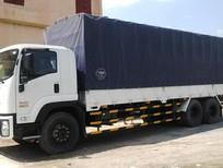 Xe tải Isuzu 3 chân thùng dài 7.8m/ 9.6m bán trả góp