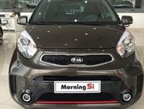 Bán xe Kia Morning SI MT sản xuất 2016, màu nâu giá cạnh tranh