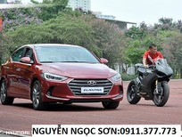 Bán ô tô Hyundai Elantra mới 2016, màu đỏ, nhập khẩu nguyên chiếc, 595 triệu,khuyến mãi 20 triệu