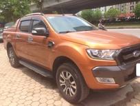 Bán Ford Ranger Wiltrak 3.2 đời 2016, màu đỏ, nhập khẩu