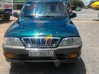 Cần bán Ssangyong Musso đời 2002, màu xanh lam, xe nhập chính chủ giá cạnh tranh
