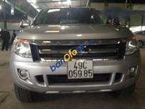 Bán Ford Ranger MT đời 2013, màu bạc, nhập khẩu, giá tốt
