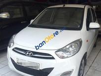 Bán xe Hyundai i10 MT đời 2014, màu trắng, nhập khẩu chính hãng số sàn