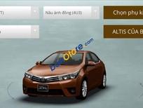 Toyota An Sương cần bán xe Toyota Corolla sản xuất 2016, màu nâu, giá tốt