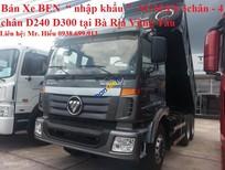 Giá xe Ben 3 chân 10 khối giá rẻ nhất Thaco Auman tại Bà Rịa Vũng Tàu 0938 699 913
