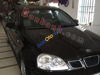 Salon Ô tô Dũng Sỹ bán xe Daewoo Lacetti EX đời 2007, màu đen chính chủ, 248 triệu
