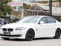 BMW 523i màu trắng nội thất kem sang trọng