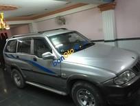 Cần bán lại xe Ssangyong Musso đời 2004, màu bạc chính chủ, 295tr